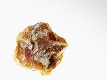 水晶黄色方解石 图库摄影