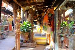 智利传统artesans购物中心 库存图片