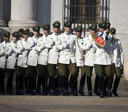 智利宫殿总统圣地亚哥 库存照片
