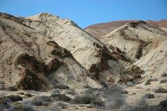 智利形成地质曲折前进 免版税库存照片