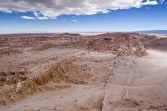 智利月亮谷 库存图片