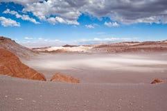 智利月亮谷 图库摄影