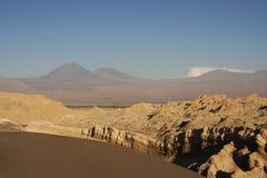 智利月亮谷 免版税库存照片