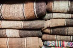智利毯子 库存照片