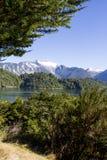 智利海湾的里面段落 免版税图库摄影