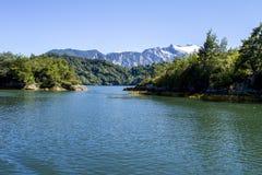智利海湾的里面段落 库存照片