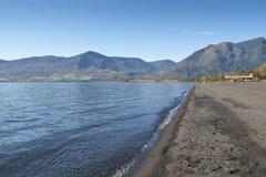 智利湖pucon villarrica 库存照片