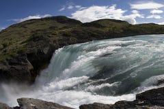 智利瀑布 免版税库存图片