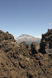 智利火山 库存照片