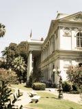 智利的全国代表大会的圣地亚哥位子, cente的 免版税图库摄影