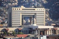 智利的全国代表大会 免版税图库摄影