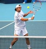 智利福纳多・冈萨雷斯球员网球 库存照片