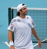 智利福纳多・冈萨雷斯球员网球 免版税库存照片