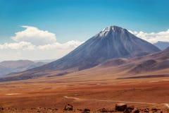 智利阿塔卡马沙漠 库存图片