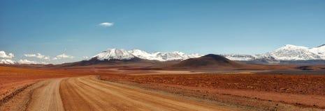 智利阿塔卡马沙漠 库存照片
