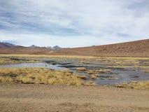 智利` s阿塔卡马沙漠 库存图片