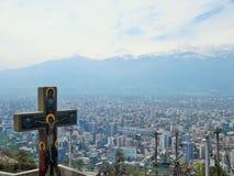 智利de圣地亚哥 图库摄影