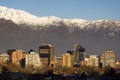 智利de圣地亚哥 库存照片