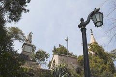 智利de mackena圣地亚哥坟茔 免版税库存照片