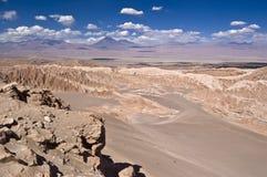 智利Death Valley 免版税库存图片