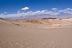 智利Death Valley 免版税库存照片