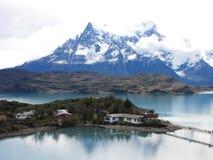 智利del国家paine公园torres 免版税库存照片