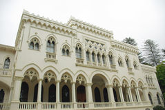 智利Del Mar palacio vergara vina 免版税库存图片