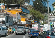 智利Del Mar vina 免版税库存图片