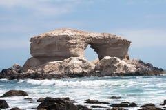 智利la纪念碑自然portada 库存照片