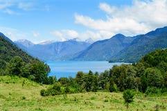 智利lago los桑托斯todos 免版税库存照片