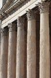 智慧女神寺庙在阿西西 库存图片