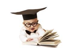 智能孩子 免版税库存图片