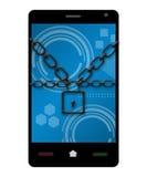 智能手机保护 免版税库存图片