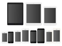 智能手机和片剂 皇族释放例证