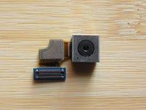智能手机照相机模块 库存图片
