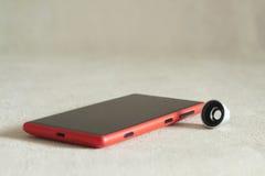 智能手机的摄影透镜 库存照片