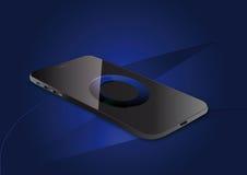 智能手机视觉传染媒介例证 免版税库存照片