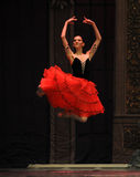 暂停在空糖果神仙的舞蹈-芭蕾胡桃钳 库存照片
