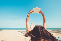 暑假和旅行概念 免版税图库摄影