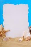 暑假框架 免版税库存图片
