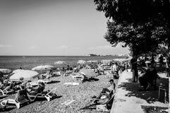 暑假镇海边街道在国家土耳其 库存照片
