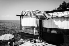 暑假镇海边街道在国家土耳其 免版税库存图片