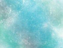 黑暗地蓝色冰 库存图片