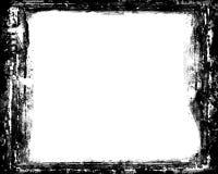 暗房黑照片为风景照片10x8渐近 向量例证