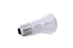 暗淡电灯泡的闪亮指示 免版税库存图片