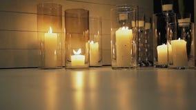 黑暗灼烧的蜡烛 股票视频