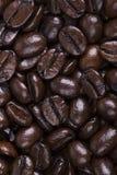 意大利烘烤咖啡豆 免版税库存照片