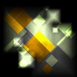 黑暗的五颜六色的传染媒介技术设计 免版税库存照片