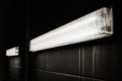 黑暗的光 库存照片