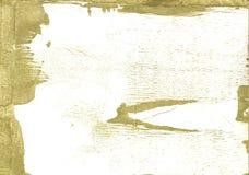 黑暗的卡其色的抽象水彩背景 库存照片